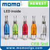 2014 el Design más nuevo LED Light 5ml Big Capacity EGO CE8 Atomizer, Vaporizer, Clearomizer