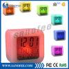 빛을내는 7 LED Color Change Digital Alarm Clock