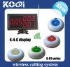 ケイタリングサービス装置の無線ポケベルの呼出しシステム
