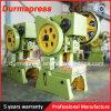 알루미늄에게 단면도 구멍 구멍을 뚫기를 위한 J23-16t 구멍 뚫는 기구 기계