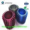 Kundenspezifisches Aluminium, das buntes Kühlkörper-Rohr für kühles Aufsatz-Teil anodisiert