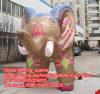 Advertizingのための印刷Inflatable 5m Elephant Cartoon