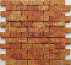 Roter Ziegelstein-Art-Mosaik (CST302)