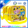 Kjin Stationery Yellow School Bag com Single Shoulder