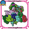 Metallo Enamel Badge con Glow Color