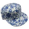 Casquette de baseball florale de tissu de mode avec la casquette de baseball Sb15102 de Snapback