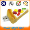 Commodity caldo New Design Flash Drive del PVC Pizza