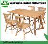 Eiche Dining Table mit 4 Chairs für Home Furniture