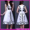 新しい2015人の最新のデザイン高品質の女性の服の女性の方法イブニング・ドレス(F-006)