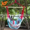 Balanço do Hammock da cadeira que pendura a corda de madeira do pátio do patamar de luxe ao ar livre do ar