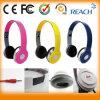 Écouteurs faits sur commande de casque de fabricant d'Earpods de qualité pour le PC