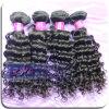 2014 Nuevo producto de pelo de color natural peruano Francés Curl Remy de la Virgen de la armadura del pelo