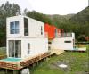 Edificio modular prefabricado moderno del envase de la estructura de acero
