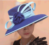 Organza chinês Chiffon Hats Ladies Hats com Cheap Price