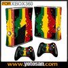 Piel de vinilo para Xbox360 consola de juegos Slim & controladores remotos