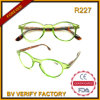 R227 Hotsale neue modische runde Rahmen-Anzeigen-Gläser