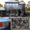 Панель загородки сада Perforated стального металла алюминиевая