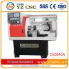 기계로 가공 알루미늄 기계 부속품 작은 수평한 CNC 선반