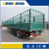 Best Priceの工場Sinoheng 12 Wheels Cargo Fence Trailer