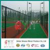 Cerca usada patio cubierta PVC de la cerca del campo de tenis de la cerca de la conexión de cadena