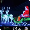 Feenhaftes fantastisches Weihnachtenpferden-Wagen-Licht für Einkaufszentrum Deco