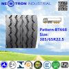Preiswertes Bt668 385/65r22.5 Radial Truck Tyre für Drive Wheels