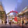 Het commerciële Voet Architecturale Teruggevende Project van de Straat