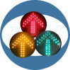 Traffic con pilas Light Indicator con Competitive Price