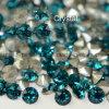 Neue glänzende Nagel-Kunstrhinestone-Punkt-Rückseite GlasChaton 888 (PP48)