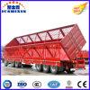 中国70のトン3axleの側面のダンプのダンプカーのダンプの貨物セミトレーラー