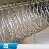 Dehnbares galvanisiertes Belüftung-überzogenes Stacheleisen/Stahldraht für Sicherheit
