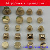 De Klinknagel van de Nagels van het Metaal van de Voeten van de Zak van de Hoogste Kwaliteit van de fabriek voor Handtas