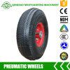 Roda 10*3.5-4 pneumática para caminhões de mão, vagões da ferramenta e geradores