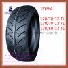 Schlauchlose, lange Lebensdauer, Qualitäts-Motorrad-Reifen mit 12/70-12tl, 130/70-12tl, 13/60-13tl
