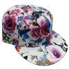 Gorra de béisbol floral de la tela de la manera con el Snapback Sb15111