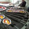 Forno de produção de chapa de vidro