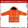 De in het groot Oranje Weerspiegelende Jasjes Workwear van de Winter (eltsji-21)