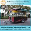 2017 de Mobiele Aanhangwagen van het Voedsel, de Kar van het Voedsel en de Vrachtwagen van het Voedsel voor Verkoop