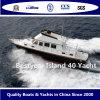 Yate de lujo del barco de la isla 40