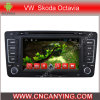 Vw Skoda Octavia (AD-7038)のためのA9 CPUを搭載するPure Android 4.4 Car DVD Playerのための車DVD Player Capacitive Touch Screen GPS Bluetooth