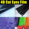 Nuevo Cat Eye Vinyl del Cat Eye Film/de Arrive Fashionable Hot Sale 4D