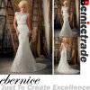 Vestidos novos do vestido de casamento da sereia do laço da chegada