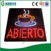 LEDの開いた印LED Abiertoの印LEDの店の印(HAS0017)