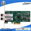 1000Mbps Dual Port Sfpx2 Fiber Optic Network LAN Card