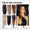 Double agrafe de trame de la couleur P27/613# de point culminant dans la prolongation de cheveux