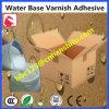 ニスをかけられたペーパーのための水の基づいた薄板になる接着剤