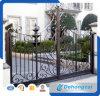 Puerta decorativa del hierro labrado del oscilación para Countyard