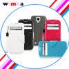 Móvil/caja modificados para requisitos particulares cuero del teléfono celular para la galaxia S4 I9500 (WIMKA-L03) de Samsung