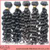Cheveux malaisiens de trame bouclés de bonne qualité de vente chaude