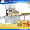 Tipo linear automático linha de engarrafamento do óleo do alimento/óleo comestível